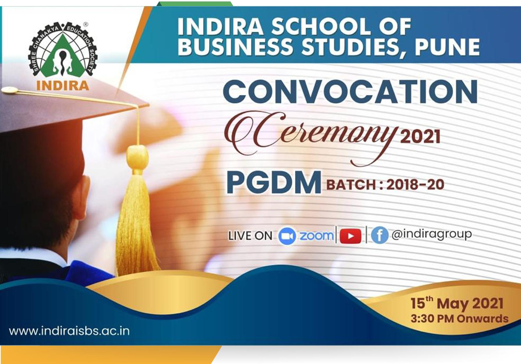 PGDM Convocation 2021