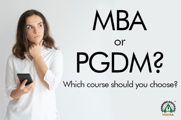 MBA or PGDM? Which course should you choose?